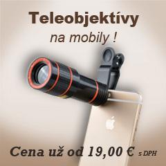Objektívy na mobily