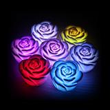Svietiace ruže - lampička